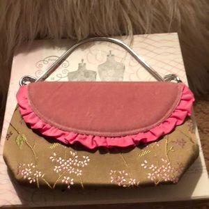 Handbags - Velvet and satin small dinner bag